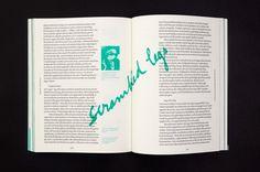 De ou par Marcel Duchamp par Ulf Linde — Martin Frostner Studio #monochrome #spread #layout #typography
