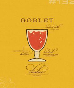 Sauced Goblet Poster #beer #poster