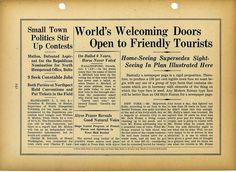 Intertype newspaper type specimen #type #specimen #typography