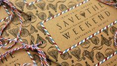 Momental Designs Wedding Invitations via Oh So Beautiful Paper (5)
