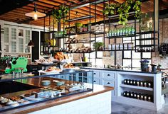 thegrounds coffee house Syndey Australia www.mr cup.com #interior #design #decor #restaurant #coffee #australia