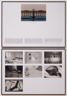 'The Hotel, Room 29', Sophie Calle, 1981 | Tate