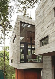 corallo-house-paz-arquitectura-03 #glass #concrete #architecture