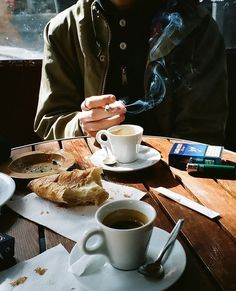 Lifestyle of the Unemployed #coffee #cafe #cigarette #breakfast