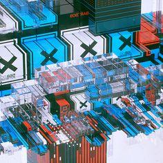 everydays - september 2014 Mike Winkelmann | Behance #cinema 4d #render #tech #futuristic #computer generated