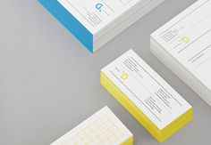 Yoshida Design on Behance #visual #identity #stationary