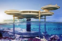 Discus Underwater Hotel planned for Dubai #Discus #Dubai