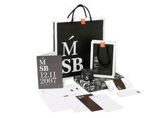 Fundació Caixa Manresa / Naming and identity Món Sant Benet / Signage #packaging #logo #card #business