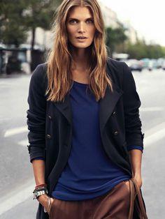 Malgosia Bela by Cedric Buchet for Marc O'Polo Campaign #fashion #model #photography #girl
