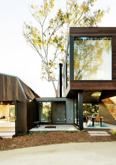 Two Bedroom Guest House by Walker Workshop