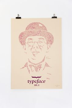 Typefaces Nr.1 #design #tschichold #portrait #typeface #jan #type #face #typographie