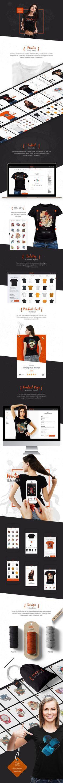Responsive T-Shirt Designer Website Development from https://mobilunity.com/portfolio/t-shirt-designer-website/
