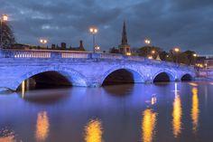 Bridge in the town of #Bedford