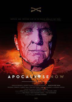 APOCALYPSE NOW / Vector Movie Posters
