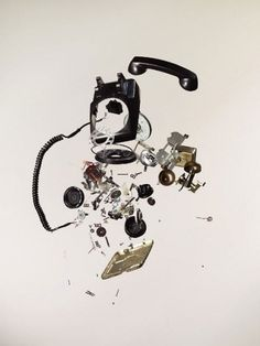Art & Photography: Todd McLellan | Feature Shoot #telephone #mclellan #todd