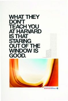 American Airlines: Harvard | Ads of the World™ #airlines #american