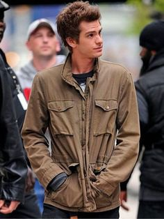Spring has arrived, the fashion trend changes time to time, Peter Parker's cotton Jacket from Amazing Spiderman Movie is on sale. Buy Now. #amazingspiderman #peterparker #spring #summer #jacket #cottonjacket #springfashion #summerfashion #actor #celebrities