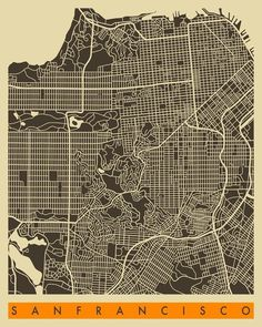 City Maps #grid #maps