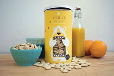 LacyKuhn_Beehive_02 #packaging #yellow #bee