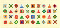 Gunta Stölzl Bauhaus Master #pattern #icons