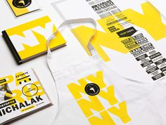 Graphic ExchanGE a selection of graphic projects #typography #yellow #overprint #ny