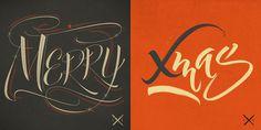 MerryXmas-01 #lettering #calligraphy