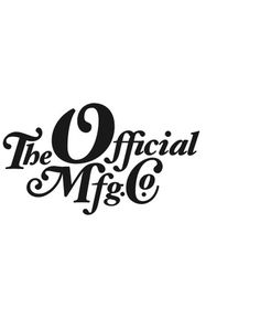 The Official Manufacturing Company / Work / OMFGCO / Logos #official #manufacturing #the #company #logo #omfgco
