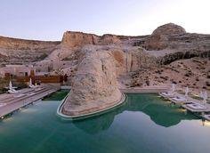 Amangiri Luxury Resort in Canyon Point, Utah | Yatzer™ #pool #resort #amangiri