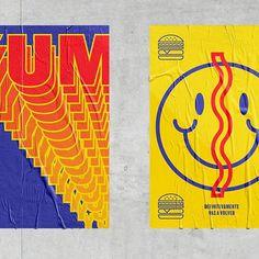 @bembosperu #bembos #mutantestudio #design #poster @designspiration #smileface #yellow #basiccolors