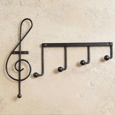 Music Note Hooks #tech #flow #gadget #gift #ideas #cool