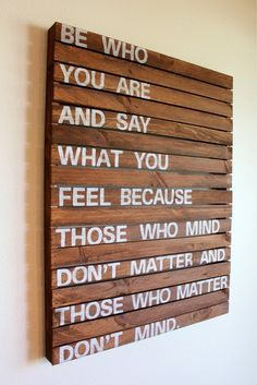 CJWHO ™ (Be who you are and say what you want because those...)