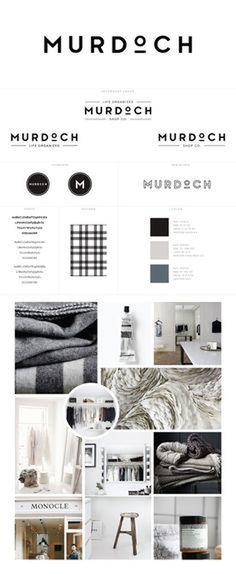 Murdoch Logos + Branding