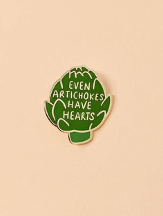 Artichoke Pin // Hard Enamel Enamel Pin Pin Lapel Pin