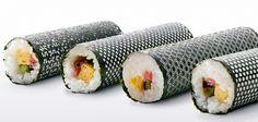 lasercut nori for designer sushi #seaweed