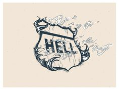 HIGHWAY TO HELL #print #typography #music #rock #hell #metal #highway #acdc