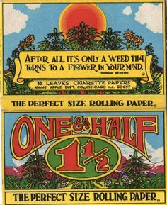 #70s rolling paper #packaging