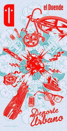 Designersgotoheaven.comEl Duende Magazineby VCM. #explosion #poster