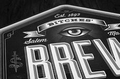 bitches brew. #packaging #beer