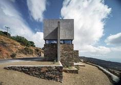 Contemporary Stone Residence in Triantaros Village, Greece / Aristides S. Dallas