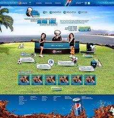Pepsi . Olho no Lance com Silvio Luiz . 2012 on the Behance Network #grass #rio #sky #girls #de #soccer #janeiro
