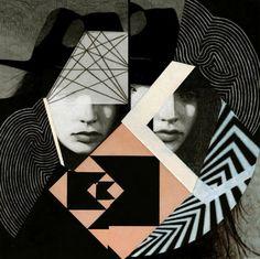 The Fox Is Black » Portrait Deconstruction: Anna Higgie #photography #design #collage #portrait
