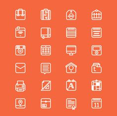 Things on Icons on Behance #34636