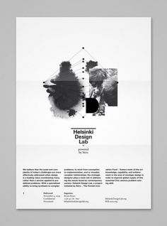 Helsinki Design Lab | Shiro to Kuro #paper #poster