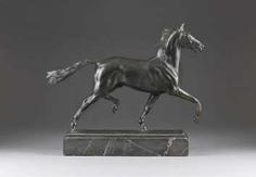 ALBERT HINRICH HUSSMANN 1874 Lüdingworth - 1946 Fürstenberg, two-dollar horse