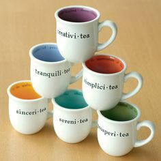 Creativi-tea Cup – Fubiz™ #mugs #colors