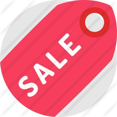 See more icon inspiration related to commerce and shopping, sticker, offer, label, signaling, supermarket, percent, sales, sale, price, commerce and discount on Flaticon.
