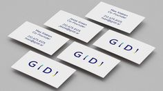 GIDI - World's first Gift Bot branding logo minimal interactive corporate design beauty beautiful new modern best nice by DIA mindsparkle Ma