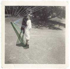 Threading - sallie harrison #thread #pattern #photo #vintage #sew #pic