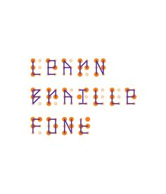 What If?roject: Learn Braille Font #fonts #learn #braille #weme