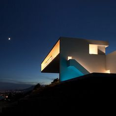 House on the Cliff by Fran Silvestre Arquitectos #spain #white #architecture #minimal #minimalist